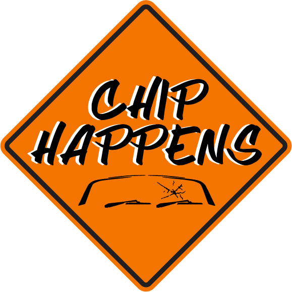 Chips Happens Glass Co. Logo